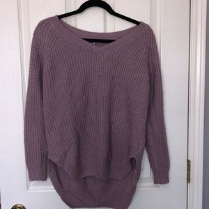 Fashion Nova lavender sweater